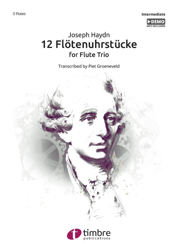 12 Flötenuhrstücke