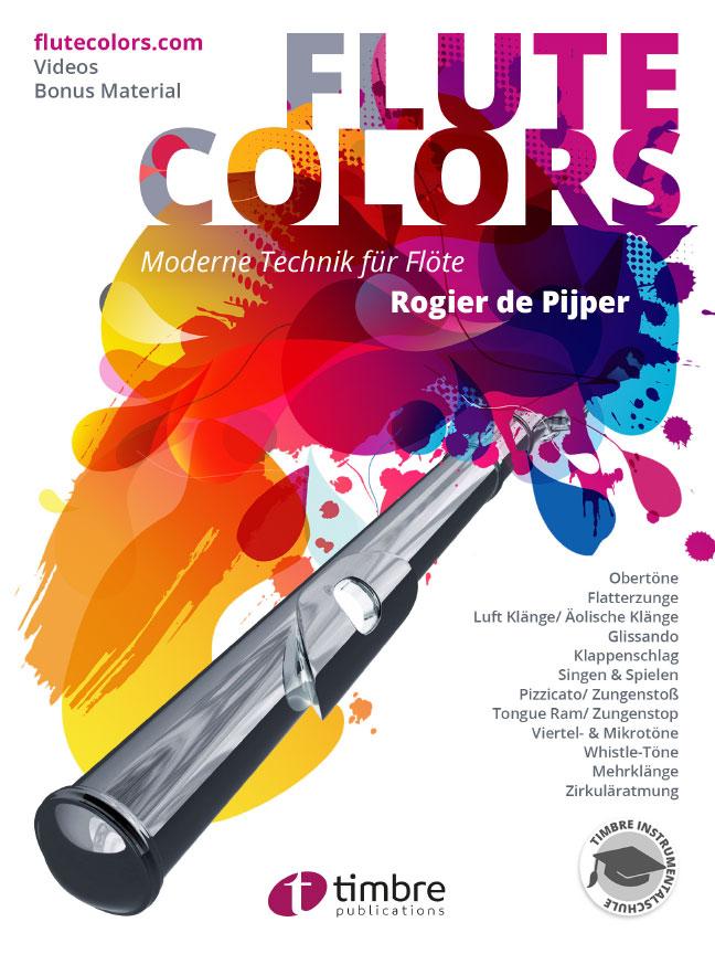 Flute Colors Moderne Technik für Flöte