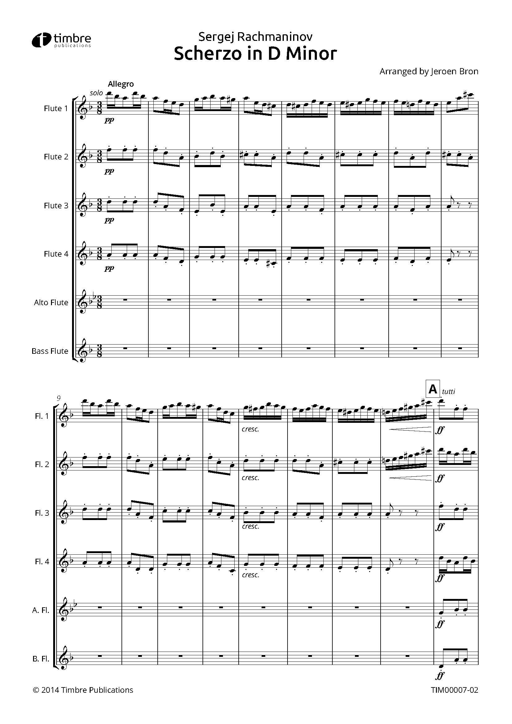 Scherzo in D Minor