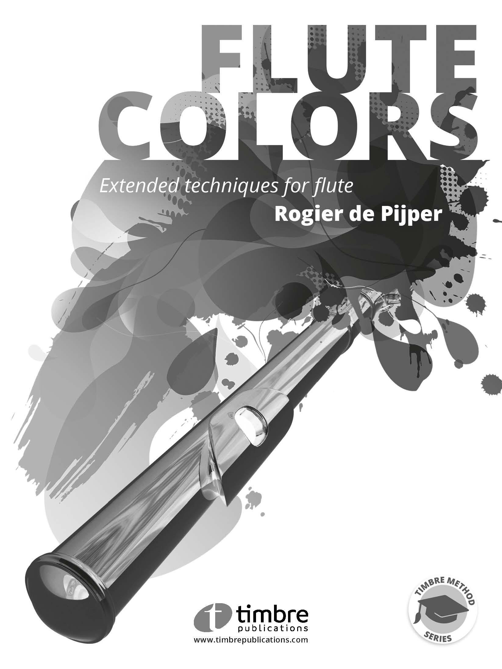 Flute Colors extended techniques for flute