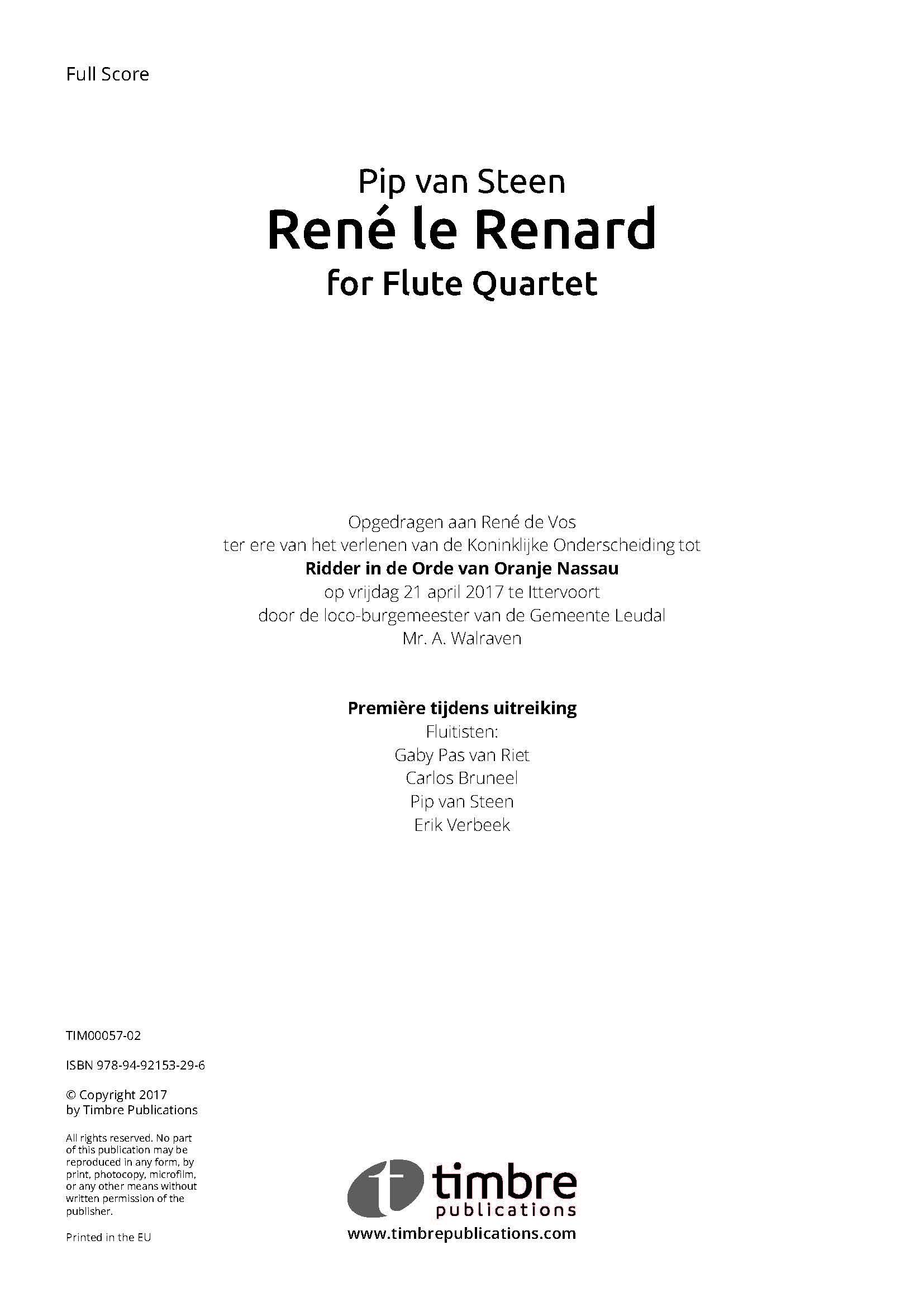 René le Renard