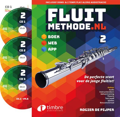 fluitmethode.nl deel 2 incl. 3 cd's